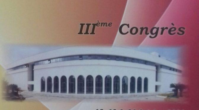 3ème Congrès de la SABC – 18/19/20 Oct 2011